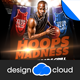 Hoops Madness College Basketball Flyer Template - GraphicRiver Item for Sale