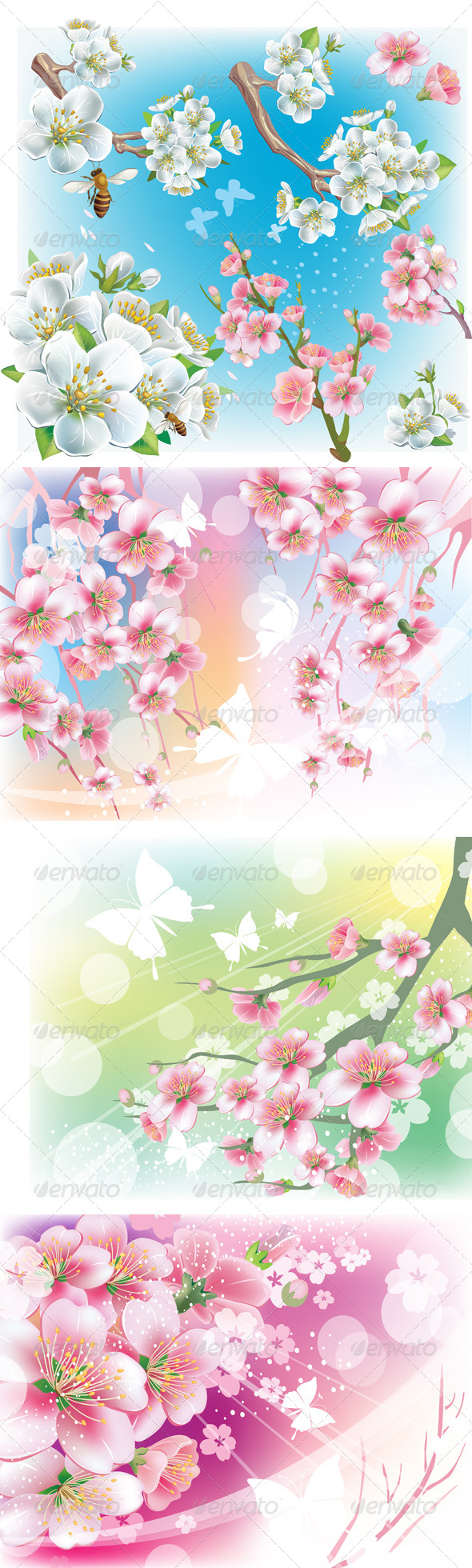 GraphicRiver Cherry Blossom 6781020