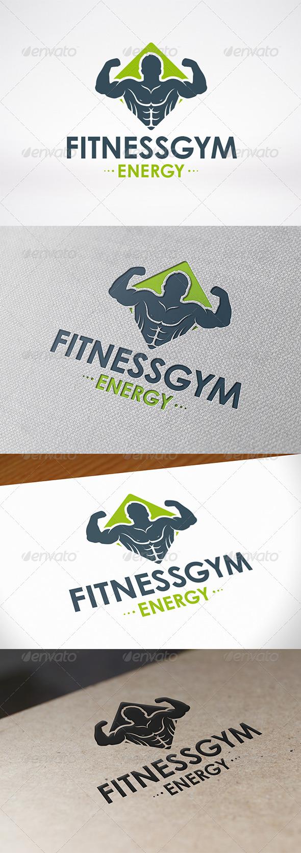 GraphicRiver Fitness Gym Logo Template 6785698