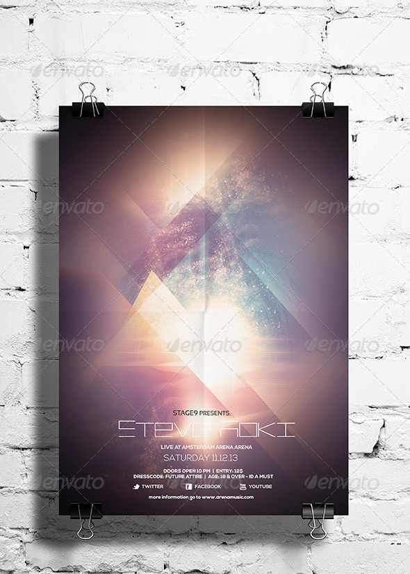 GraphicRiver Futuristic Flyer Poster Vol 1 6785873