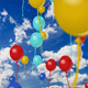 Flying balloons with depth and blur effect - ActiveDen Item for Sale