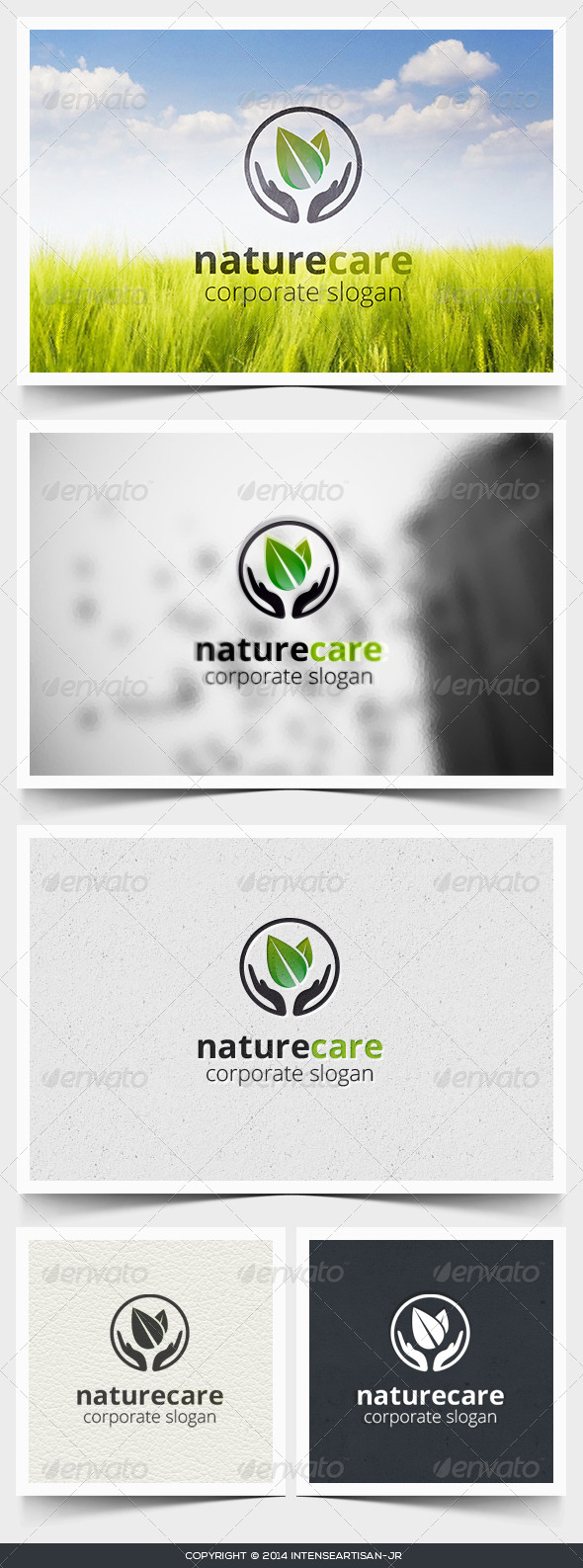 GraphicRiver Nature Care Logo Template 6786228