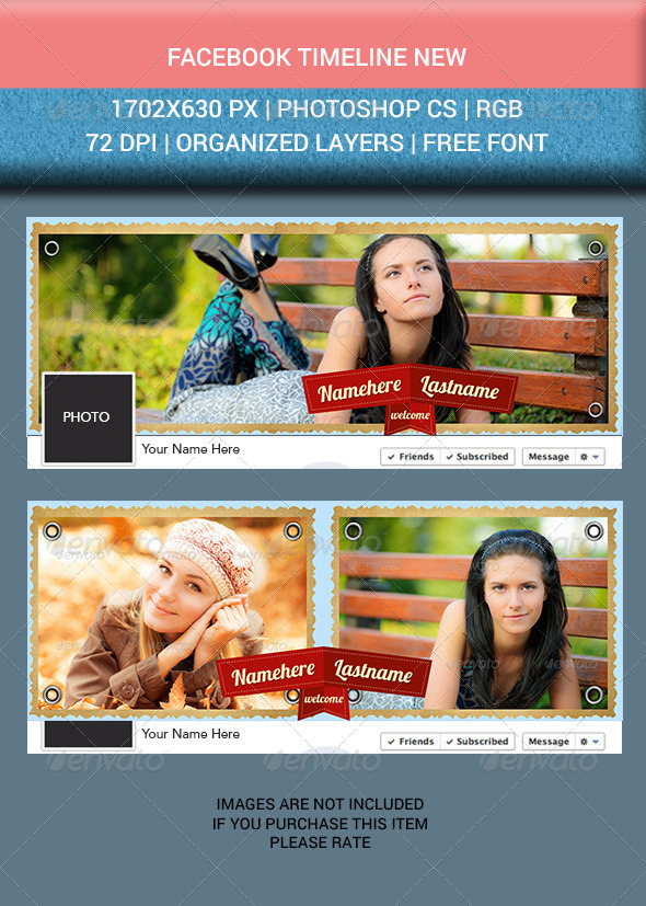 GraphicRiver Facebook Timeline Cover New 6784913