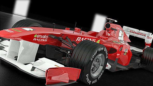Ferrari F1 2011 Model - 3DOcean Item for Sale