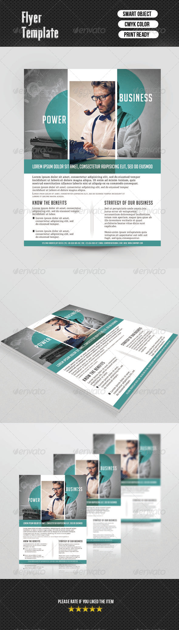 GraphicRiver Corporate Flyer Template 6786545
