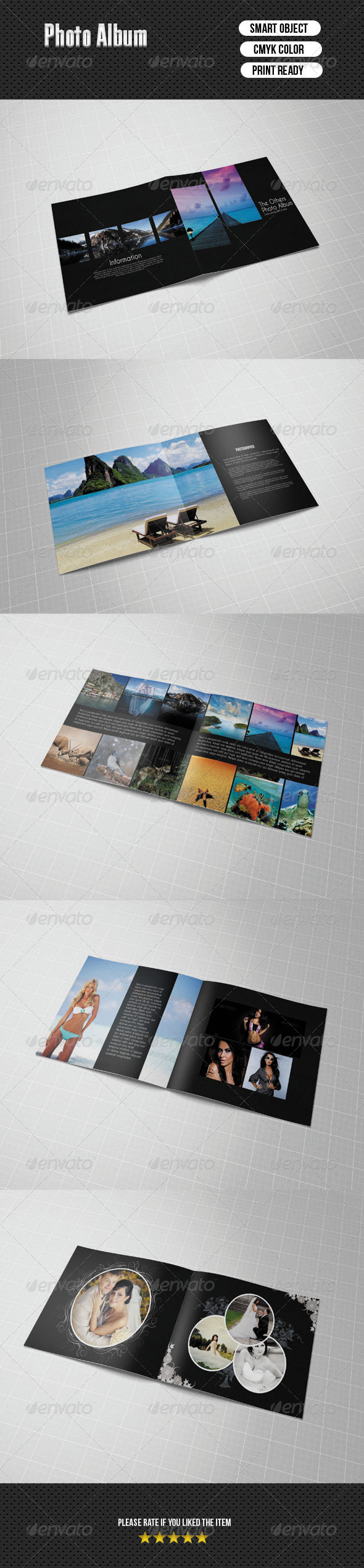 Photo Album - Photo Albums Print Templates