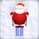 Santa Skiing - ActiveDen Item for Sale