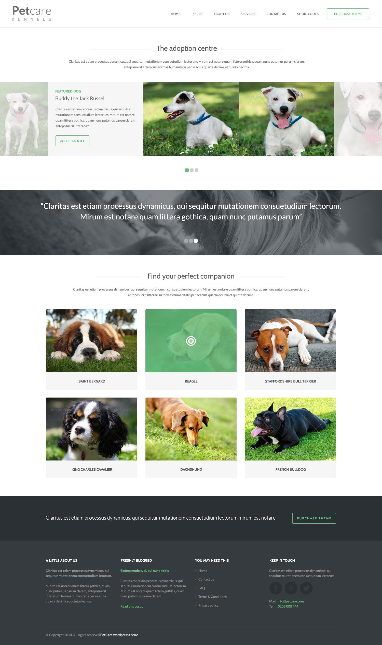 Pet Care Dog Kennels