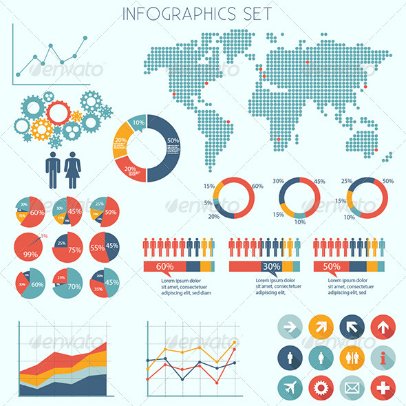 GraphicRiver Infographics Set 6752464