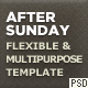 After Sunday Template [PSD] - Flexible and Multipurpose - ThemeForest Item for Sale