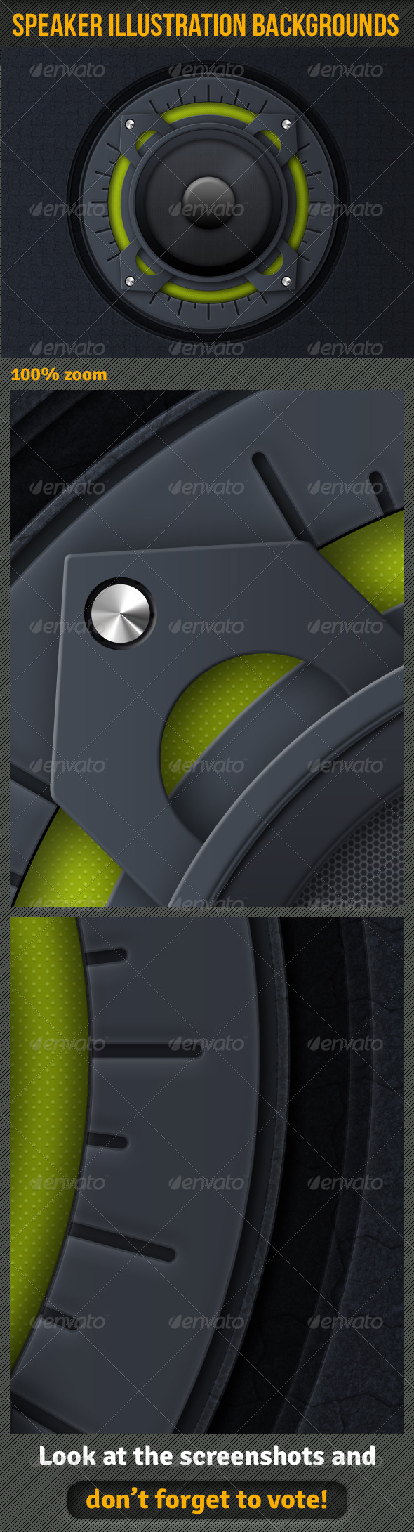 GraphicRiver Speaker Illustration Background 6787135