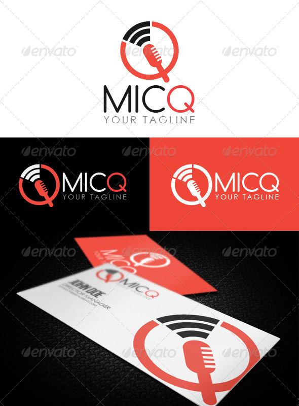 GraphicRiver MicQ Logo 6787405