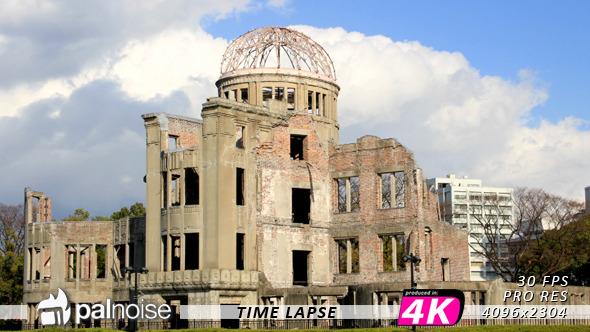 Hiroshima Dome A Bomb Building Japan