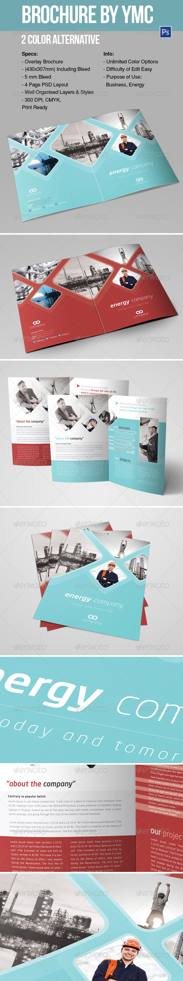 GraphicRiver BROCHURE BY YMC 6788127