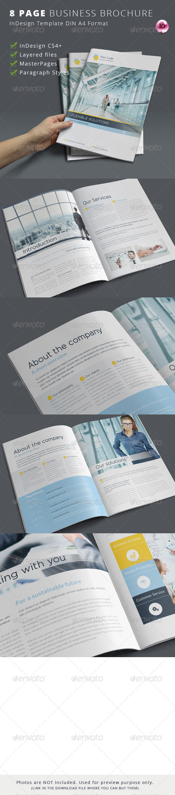 GraphicRiver 8 Page Business Brochure 6788224