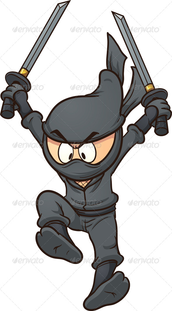 GraphicRiver Cartoon Ninja 6788396