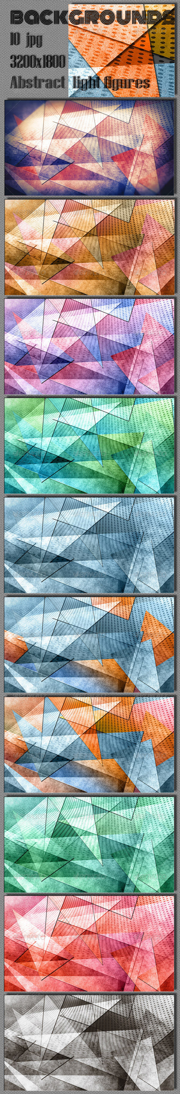 GraphicRiver Abstract Geometric Background 6788456
