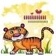 Funny  Tiger  - GraphicRiver Item for Sale