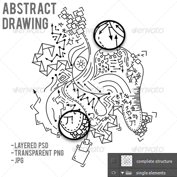GraphicRiver Abstract Drawing 6788838
