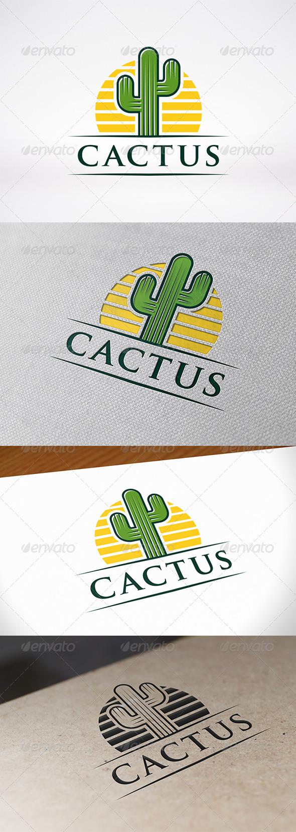GraphicRiver Cactus Logo Template 6788849
