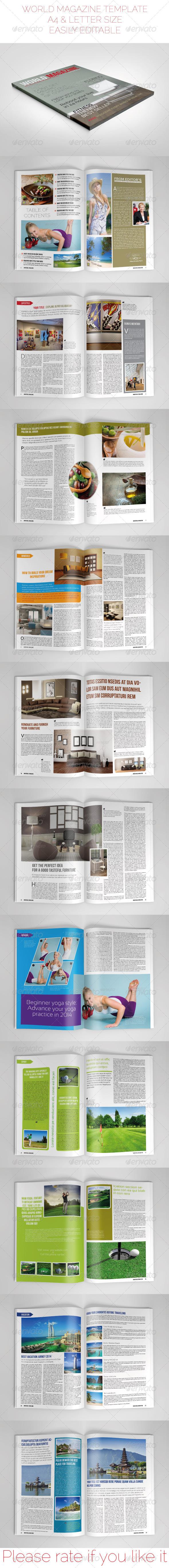 GraphicRiver Multipurpose Magazine 6789055