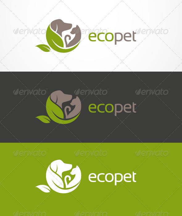 GraphicRiver EcoPet Logo 709931