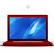 Red Laptop Icon by FlowGraphic - GraphicRiver Item for Sale