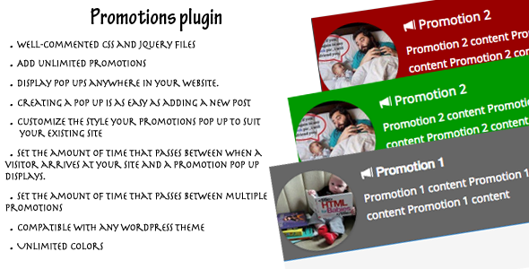 CodeCanyon Promotions Plugin Wordpress Plugin 6789787