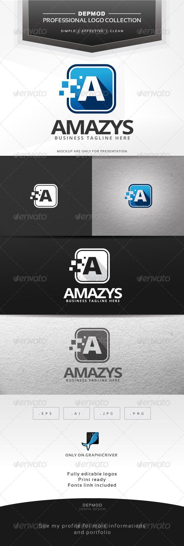 GraphicRiver Amazys Logo 6789887