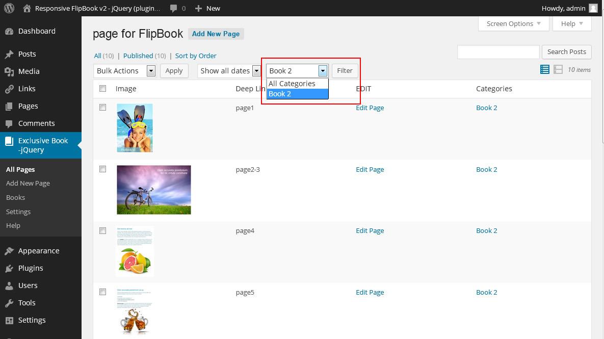 Exclusive FlipBook WordPress Plugin - 6