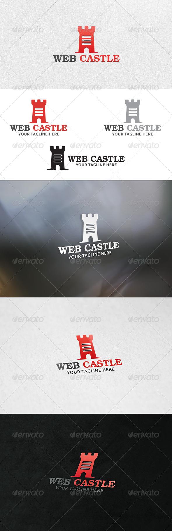 GraphicRiver Web Castle Logo Template 6790000
