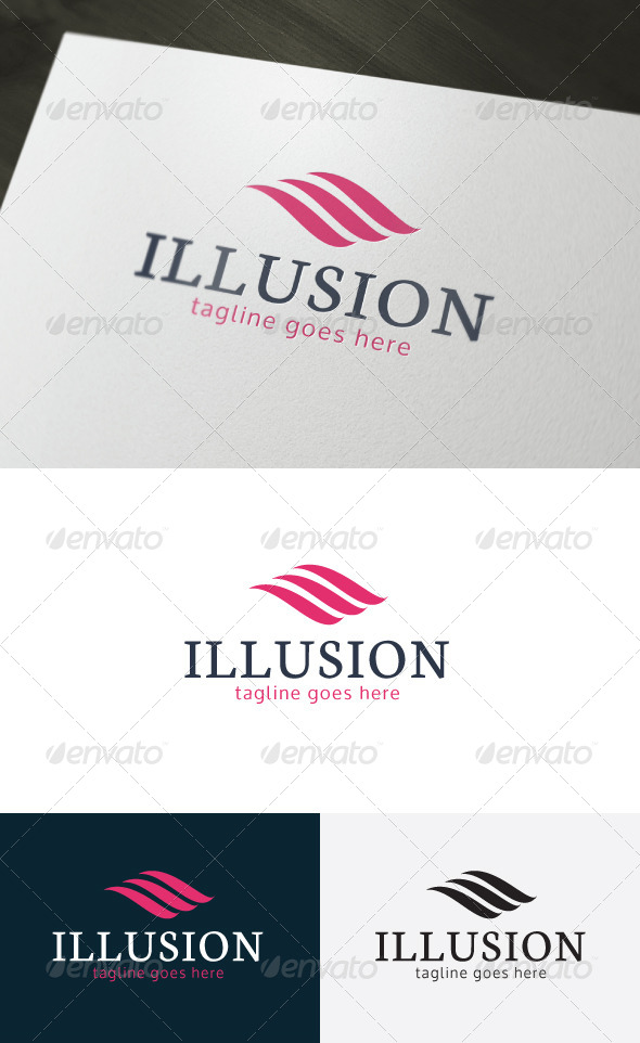 GraphicRiver Illusion Logo 6790005