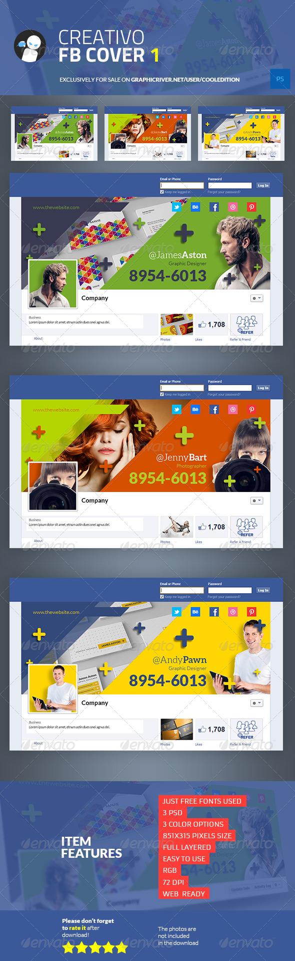 GraphicRiver Creativo Facebook Cover 1 6790014