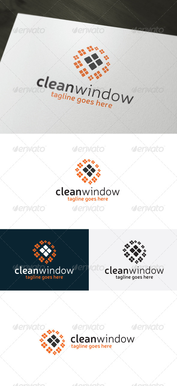 GraphicRiver Clean Window Logo 6790070