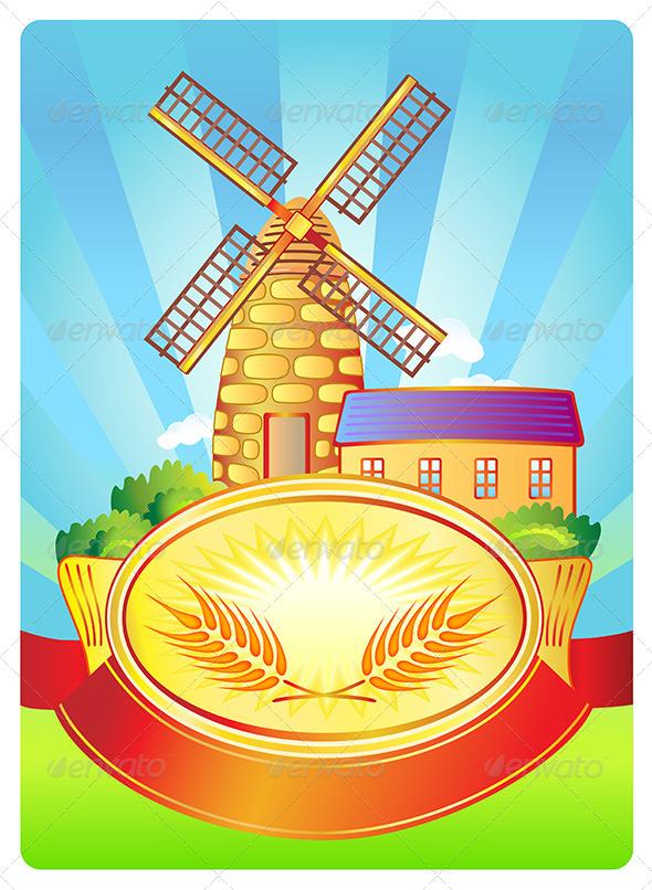 GraphicRiver Label for Bread Stuff 6790127