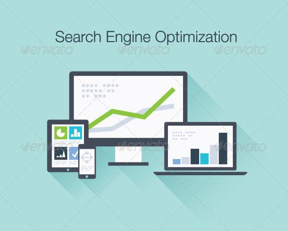 GraphicRiver SEO Marketing Concept 6790468