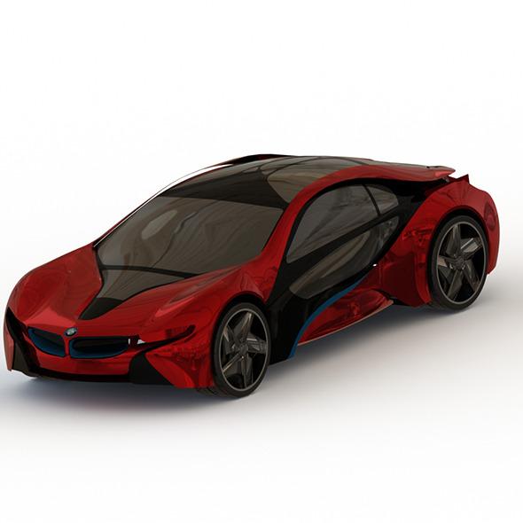3DOcean Bmw i8 Vision Concept 6790506