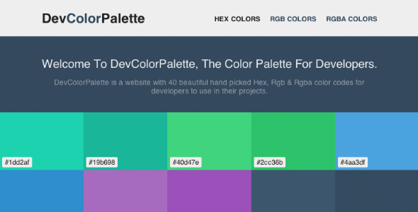 CodeCanyon DevColorPalette 6790542