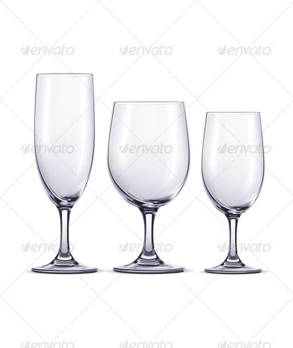GraphicRiver Wine Glasses 6790628
