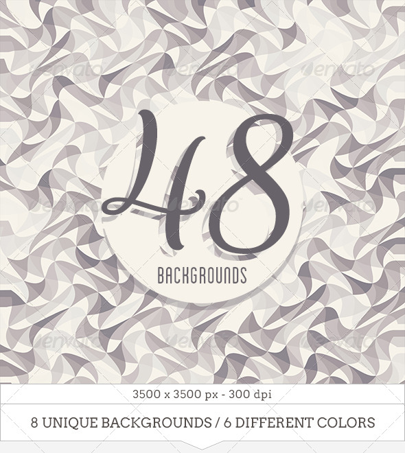 GraphicRiver 48 Abstract Backgrounds 6790655