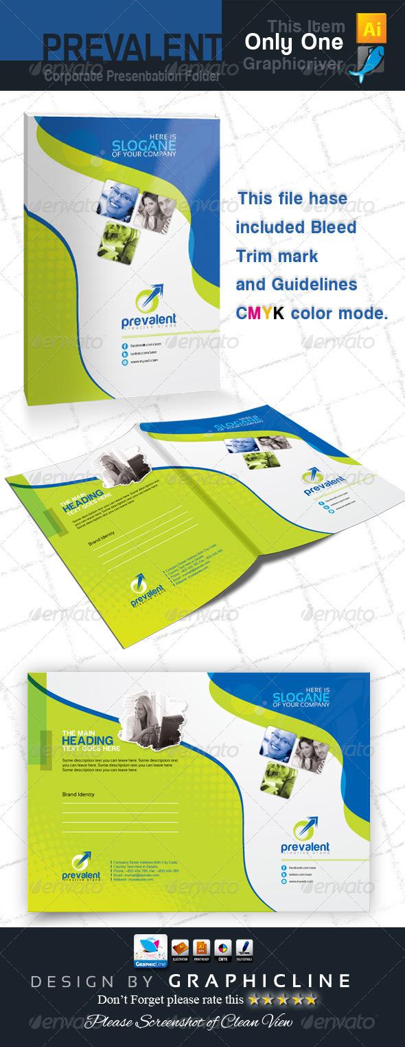 GraphicRiver Prevalent Corporate Presentation Folder 6790890