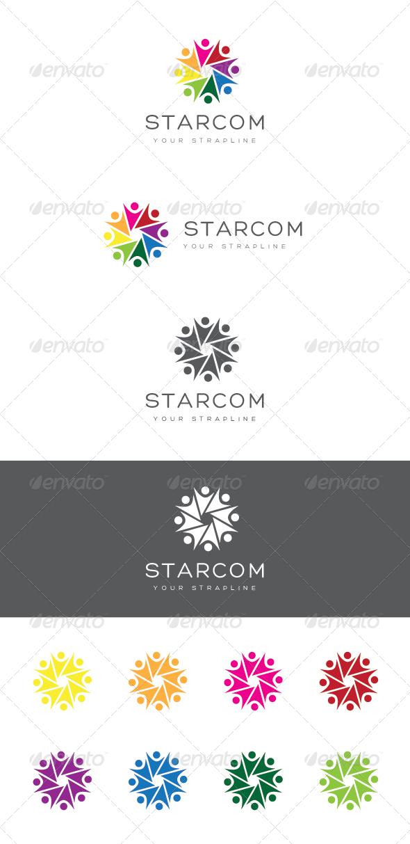 GraphicRiver Starcom Logo 6790938