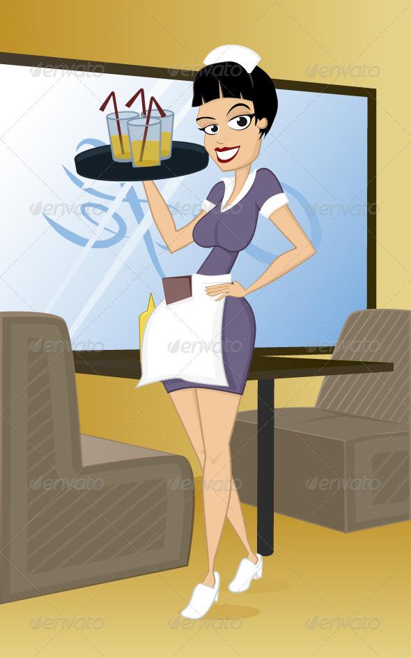 GraphicRiver Waitress 6791212