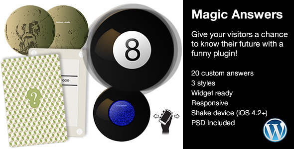 CodeCanyon Magic Answers plugin 6791235