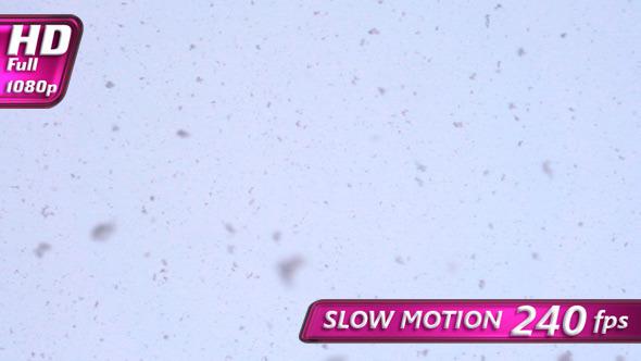 Horizontal Snowfall