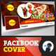 Yummy Food Facebook Cover 1 - GraphicRiver Item for Sale