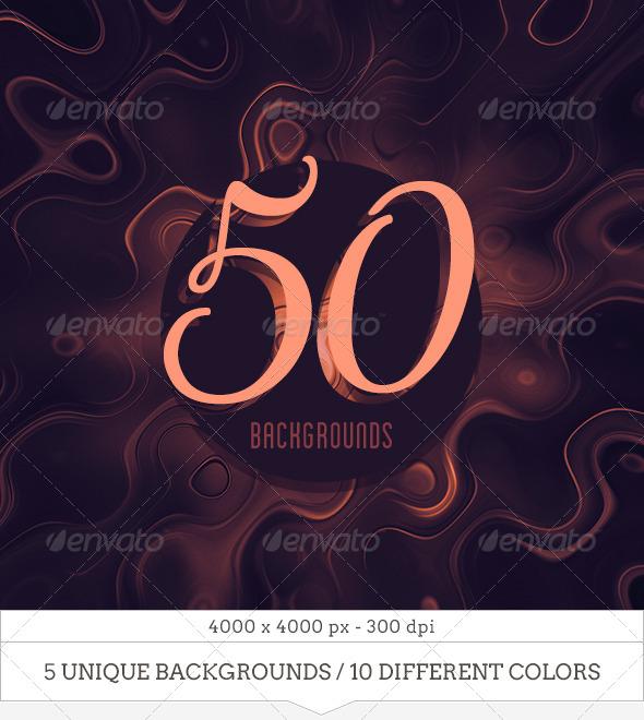 50 Liquid Metal Backgrounds