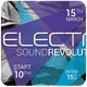 Electro Sound Revolution Flyer - GraphicRiver Item for Sale