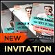 Fashion Origami Ribbon Graduation Invitation Card - GraphicRiver Item for Sale