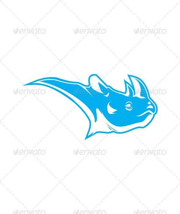GraphicRiver Rhino Head 6756927